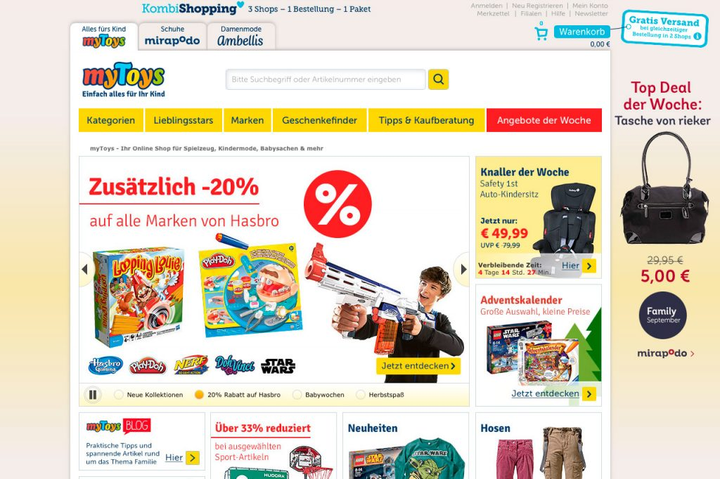 mytoys kindermode spielzeug babysachen online. Black Bedroom Furniture Sets. Home Design Ideas