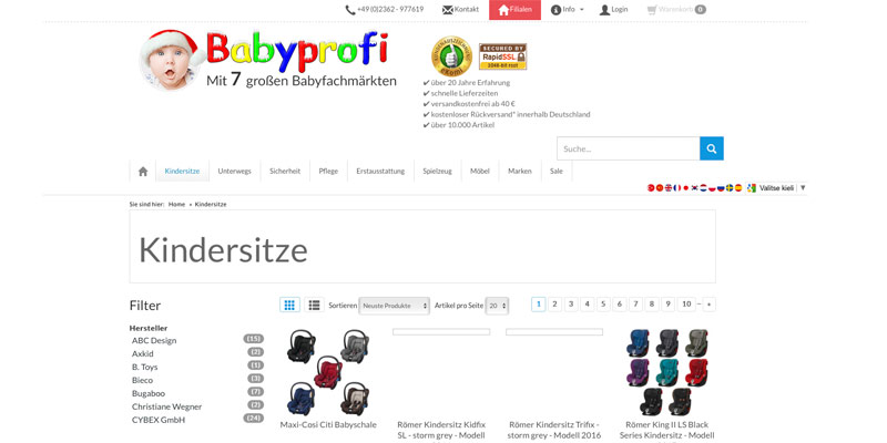 babyprofi kindermode spielzeug babysachen online. Black Bedroom Furniture Sets. Home Design Ideas