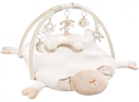 Baby Fehn BabyLove 3-D Activity Spieldecke Schaf Paul mit Nackenkissen [Babyspielzeug]