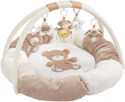 Baby Fehn Rainbow 3-D Activity Spielnest Teddy Tom [Babyspielzeug]