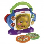 Fisher Price Musikspielzeug Lernspaß CD Spieler