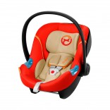 Gold Aton M Babyschale orange