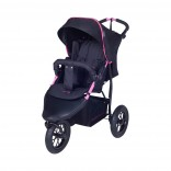 Knorr-Baby Joggy S Kinderwagen Sportwagen mit Schlummerverdeck schwarz