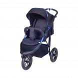 Knorr-Baby Joggy S Kinderwagen Sportwagen schwarz