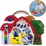 Simba ABC Baby Tierfarm mit Licht und Sound [Babyspielzeug]
