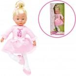 Simba My Love Ballerina Puppe mit Musik 36 cm (Rosa) [Kinderspielzeug]