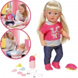 Zapf Creation Baby Born Puppe Interactive Sister 43 cm [Kinderspielzeug]