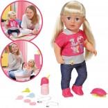 Zapf Creation Baby Born Puppe Interactive Sister 43 cm [Kinderspielzeug]
