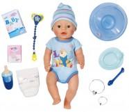 Zapf Creation Baby Born Puppe Interaktive Boy [Kinderspielzeug]