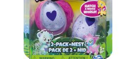 Hatchimals CollEGGtibles 2er Packung + Nest